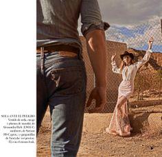 Kate Grigorieva for Vogue Spain July 2014