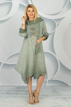 Spring Collection, Dresses With Sleeves, Shirt Dress, Long Sleeve, Shirts, Fashion, Tunic, Moda, Shirtdress