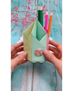 Diy Crafts Hacks, Diy Crafts For Gifts, Diy Home Crafts, Diy Arts And Crafts, Creative Crafts, Fun Crafts, Wood Crafts, Cute Diy Projects, Nature Crafts