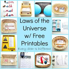 Every Star Is Different: Laws of the Universe w/ Free Printables