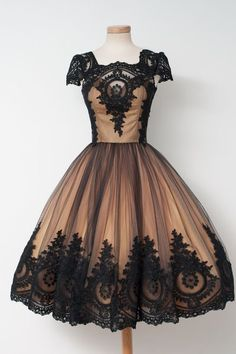 Prom Dresses Short, Prom Dresses For Cheap, Ball Gown Prom Dresses, Vintage Prom Dresses, Black Prom Dresses Short Homecoming Dresses Vintage Homecoming Dresses, Prom Dresses 2018, 50s Dresses, Pretty Dresses, Vintage Prom, Dress Prom, Dress Vintage, Vintage Black, Party Dress