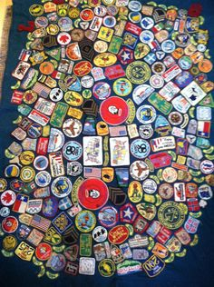 VINTAGE CAMP BLANKET Vintage Mid Century Travel Camping Patches Folk Art Camp Blanket Boho Rustic Airstream Glamping States Patch by TOURISTGARAGE on Etsy https://www.etsy.com/listing/287842441/vintage-camp-blanket-vintage-mid-century