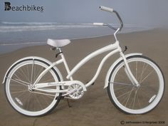 "would like to have please   Firmstrong Bella Fashionista Single Speed, White - Women's 26"" Beach Cruiser Bike"