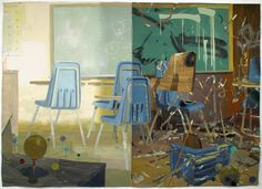 Artist painter Matt Bollinger