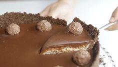Nepečený Ferrero Rocher cheesecake: Rychlé, jednoduché a miluje to celá moje rodina!   - Part 2