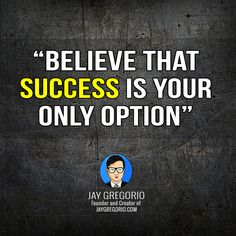 BELEIVE THAT SUCCESS IN YOUR ONLY OPTION Motivational Quotes For Entrepreneurs, How To Gain Confidence, Yoga Benefits, Life Motivation, Understanding Yourself, Dreaming Of You, Believe, Stress, Inspirational Quotes