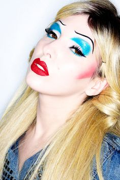 Hedwig and the Angry Inch Halloween Makeup Tutorial