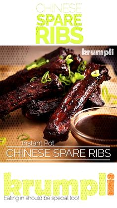 Instant Pot Chinese Spare Ribs RecipeYou can find How to cook ribs and more on our website. Chinese Spare Ribs, How To Cook Ribs, Rib Recipes, Pork Ribs, Instant Pot, Canning, Eat, Website, Pork Spare Ribs