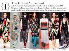 Paris Spring 2014 Top Trends - The Cubist Movement