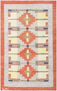 View this lovely vintage Scandinavian Swedish Kilim #48498, which is currently available for sale through Nazmiyal Collection in NYC.