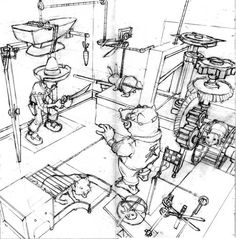 rube goldberg - Google Search