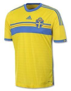 Sweden 2014 Kit- Adidas Swedish Home Jersey 2014 2015 A Seleção 78f1465595d