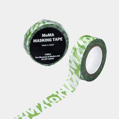 MoMA ロゴ マスキングテープ グリーン
