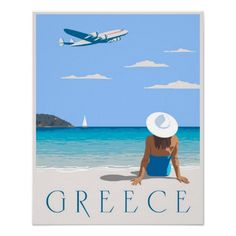 Fly to Greece Poster http://www.zazzle.com/fly_to_greece_poster-228571886450515826?rf=238205274887202706