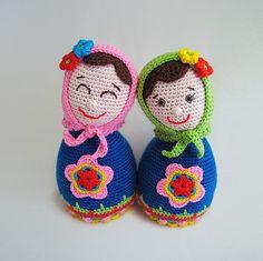 Russian Doll Babushka Matryoshka Amigurumi Pattern