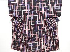 Japanese Kimono / Taisho Roman Silk
