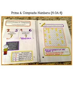 4th Grade Interactive Math Notebook - Operations  Algebraic Thinking