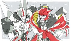 Starscream & Knockout