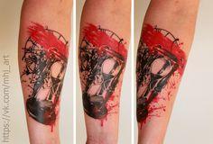 #tattoo #realism #realistic #art #watches #time #trashpolka