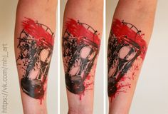 #tattoo #realism #realistic #art #watches #time #trashpolka
