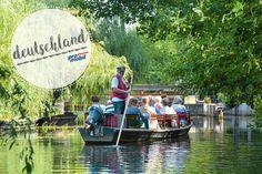 Spreewald Camping In Deutschland, Mercedes Van, Dutch Oven Camping, Vw Bus, Caravan, Camper, Berlin, Road Trip, Germany