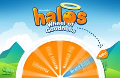 Wonderful Halos Wheel of Goodness Instant Win Game WIN Lip Balm,Backpacks,Flashlights & more Enter DAILY-Ends 3/15