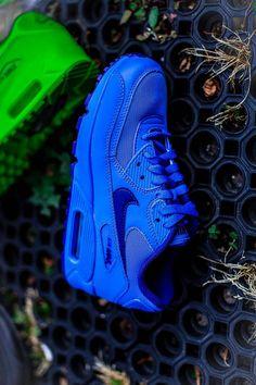 Nike Air Max 90 GS: Hyperblue