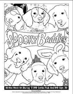 Air Buddies Coloring Pages by Bradley