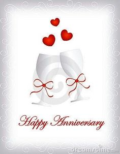 Illustration of heart - 16185768 Happy anniversary Happy Wedding Anniversary Message, Anniversary Wishes For Friends, Happy Wedding Anniversary Wishes, Happy Anniversary Cakes, Anniversary Congratulations, Anniversary Greetings, Anniversary Funny, Aniversary Wishes, Champagne