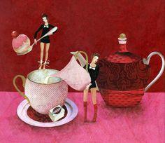 'Le Thé' by Karine Daisay