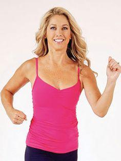 Denise Austin's Walking Routine