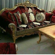 Set kusi AGF jepara indonesia Antique Sofa, Online Furniture, Couch, Luxury, Antiques, Gallery, Home Decor, Antique Couch, Antiquities
