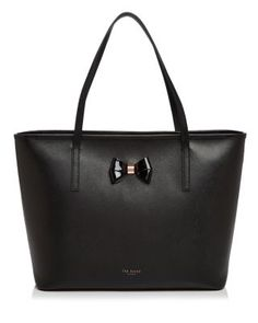 Ted Baker Large Biancaa Bow Crosshatch Tote | Bloomingdale's