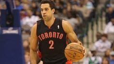#NBA DALLAS, TX - NOVEMBER 07:  Landry Fields #2 of the Toronto Raptors at American Airlines Center on November 7, 2012 in Dallas, Texas.  NOTE TO USER: User expressly acknowledges and agrees that, by downloading and or using this photograph, User is consenting to the terms and conditions of the Getty Images License Agreement.  ( Ronald Martinez/Getty Images)