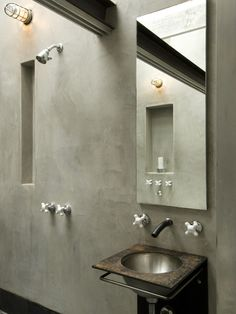 faux concrete wall design pictures remodel decor and ideas