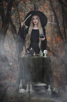 Witch Characters, Emo Love, Halloween Clown, Gothic Cathedral, Dark Mori, Fairytale Fantasies, Season Of The Witch, White Witch, Foto Art