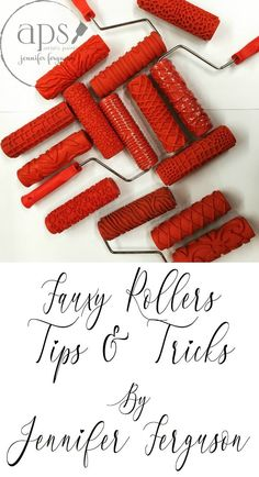 Fauxy Rollers | Decorative Rollers | Tips & Tricks | Rollers | Roller Patterns | DIY | Creative Tips | DIY Tips