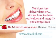 Dr.Mukul Dabholkar's Dental Clinic is one of the best treatment center located in Bandra Mumbai for cosmetic dentistry and for all other dental problems.