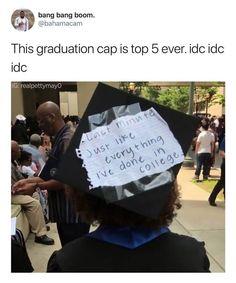 Funny graduation cap last minute postponement - #funny #graduation #minute #postponement - #DecorationGraduation