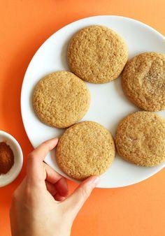 AMAZING-Vegan-Pumpkin-Sugar-Cookies!-One-bowl,-soft,-tender,-perfectly-sweet!-#fall-#vegan