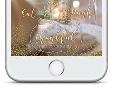 Thanksgiving snapchat filter, Thanksgiving snapchat geofilter, Be thankful snapchat filter, eat drink and be thankful  Capture the memories of Thanksgiving with your own personalized snapchat geofilter! ORDERING PROCESS  1. Add this snapchat geofilter design to your cart  2. During