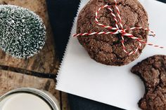 Chocolate Gingerbread Cookies: The perfect holiday treat!