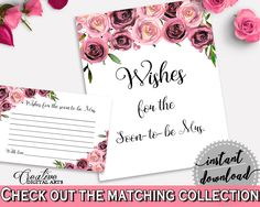 Wishes For The Soon To Be Mrs Bridal Shower Wishes For The Soon To Be Mrs Floral Bridal Shower Wishes For The Soon To Be Mrs Bridal BQ24C #bridalshower #bride-to-be #bridetobe