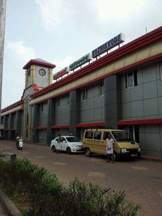 Calicut Railway Station in Kozhikode, Kerala