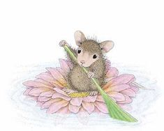 """Muzzy from House-Mouse Designs® featured on the The Daily Squeek® for June 9th, 2013. Click on the image to see it on a bunch of really """"Mice"""" products."""