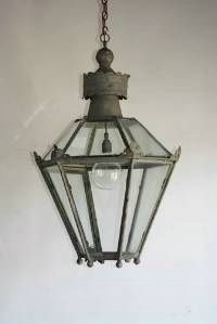 Beautiful antique lantern from Norfolk Decorative Antiques