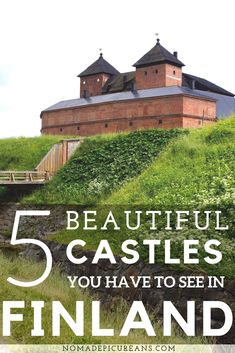 5 Beautiful Castles You Have To See In Finland Europe Travel Tips, Travel Goals, Travelling Europe, Travel Guides, Finland Facts, Finland Destinations, Europe Weekend Trips, Cool Places To Visit, Places To Go