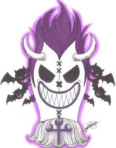 Gecko Moria Pirate-Emblem. by LoLoOw