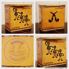 Hangon lakritsia (862 × 864) Coffee Packaging, Tins, Finland, Boxes, Canning, Vintage, Tin Cans, I Love, Crates