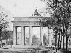 Brandenburger Tor um 1860 (Westansicht)